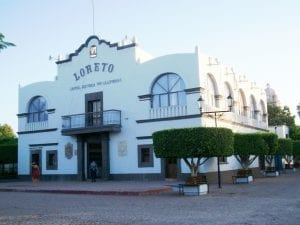 Loreto in Baja California
