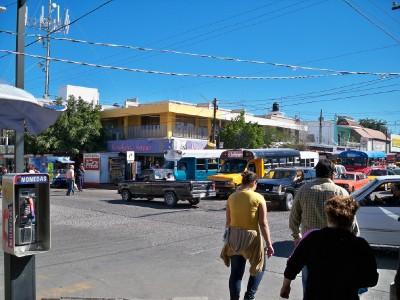 A street in La Paz, Mexico