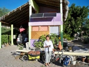 Cycling from El Junacilto to Ciudad Constitucion Bicycle Touring Mexico