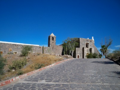 The Mission in Mulege, Mexico