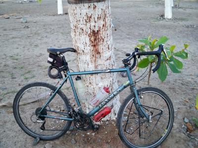 Drop handlebars on my Dawes Sardar touring bicycle