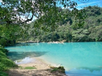 Agua Clara was a place I visited when Cycling from Agua Azul to Palenque in Mexico