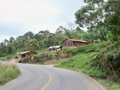 Cycling from San Cristobal to Ocosingo in Chiapas, Mexico