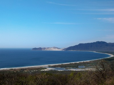 Cycling from Santiago Istata to Tehuantepec in Mexico