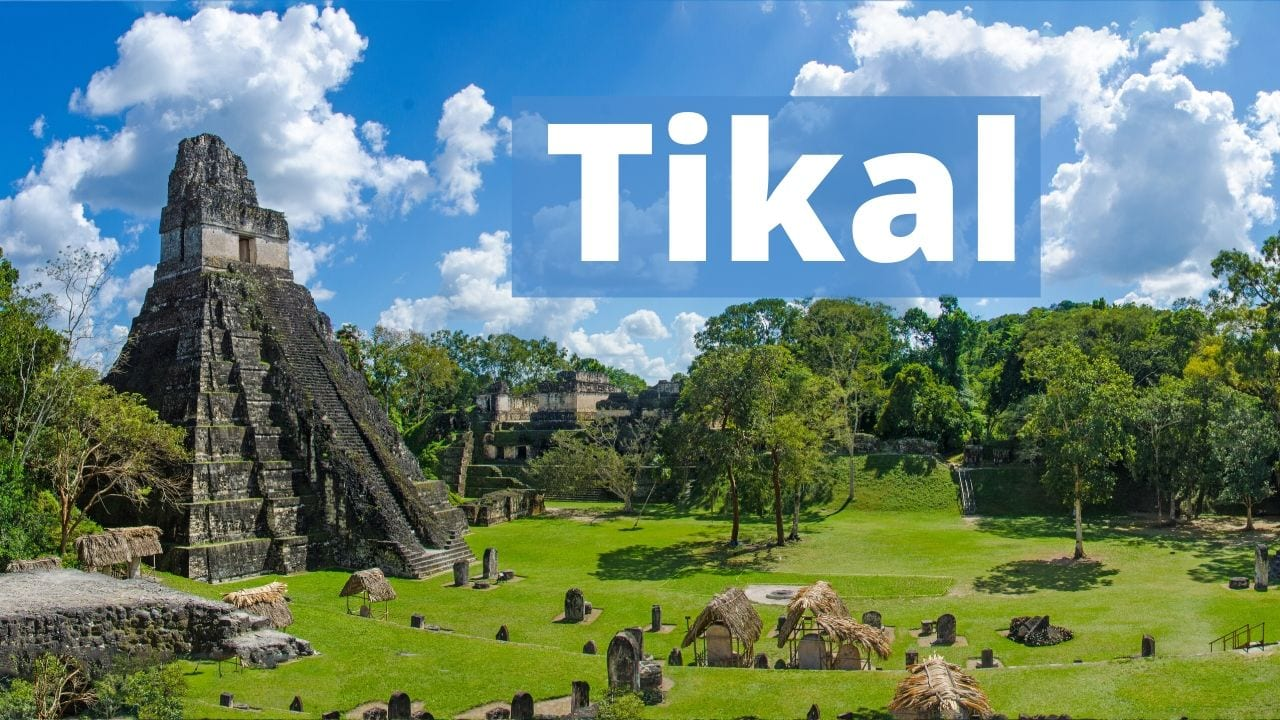 Tikal pictures and photos
