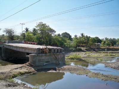 A bridge out in El Salvador