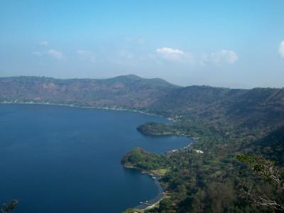 Lago Coatepeque in El Salvador
