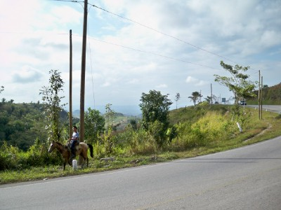 A horseman in Guatemala