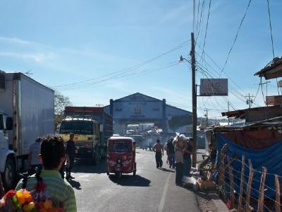 Crossing into Honduras from El Salvador