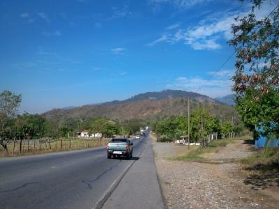 Cycling Rio Hondo to Chiquimula
