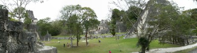 landscape view of Tikal