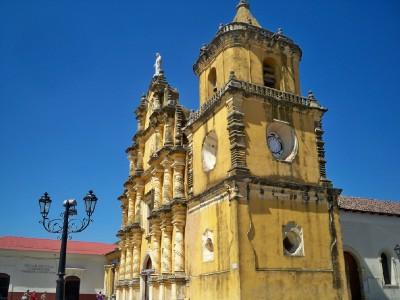 A church in Leon Nicaragua