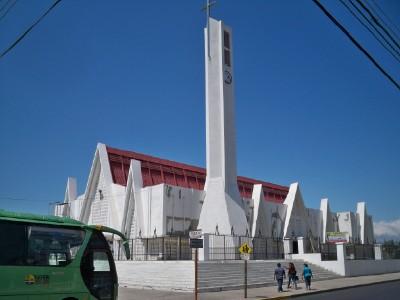 The church in Liberia, Costa Rica