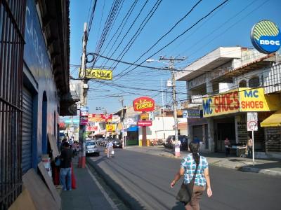 Street in San Miguel El Salvador