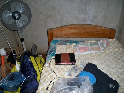A very small room in Rivas Nicaragua