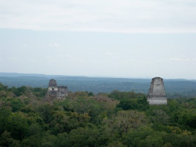 Photos of Tikal - The Star Wars scene