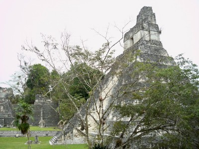Tikal in Guatemala was very quiet when I visited in 2005