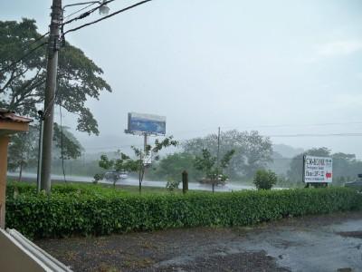The rain in Costa Rica