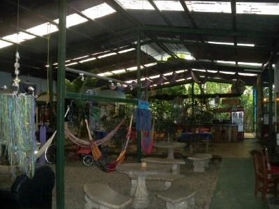 El Tucan hostel in Costa Rica