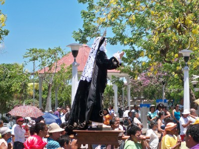 I didn't think Christianity should have idols until I saw Semana Santa in Costa Rica
