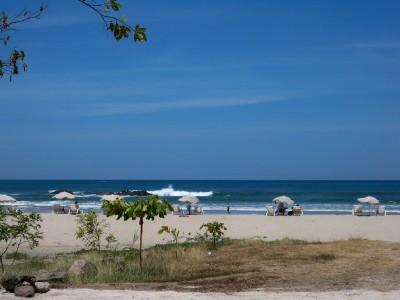 The beach at Tamarindo