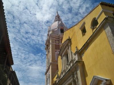 A church in Cartagena