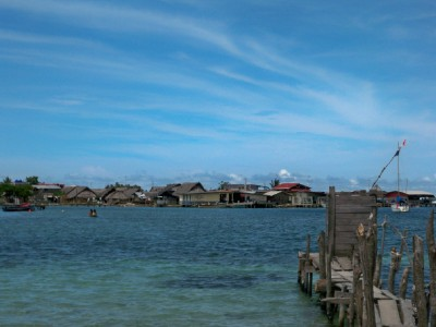 The first island we visited in the San Blas as we sailed from Panama to Colombia