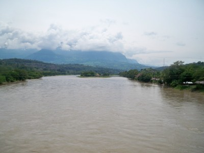 A river at La Pintada in Colombia