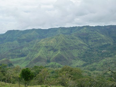 More mountains in Colombia