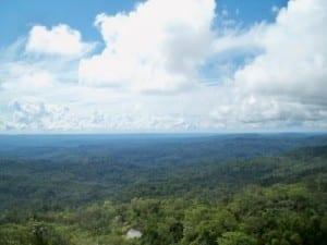 Cycling from Puyo to Macas in Ecuador