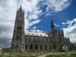 Sightseeing in Quito