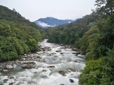 Rio Verde in Ecuador