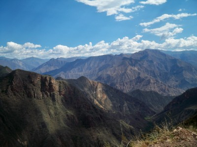 Glorious views of the Andes in Peru