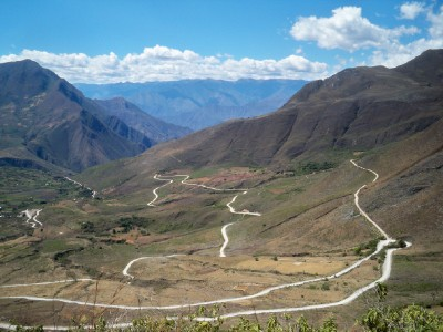 The incredible winding road to Celendin