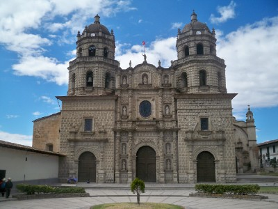 Iglesia San Francisco in Cajamarca in Peru