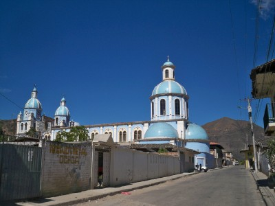 A church in Malacatos