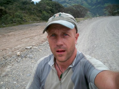 Dave Briggs Cycling from Vilcabamba to Valladolid in Ecuador - Bike Touring