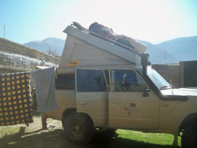 Comparing Overland Travel by Bicycle and 4WD
