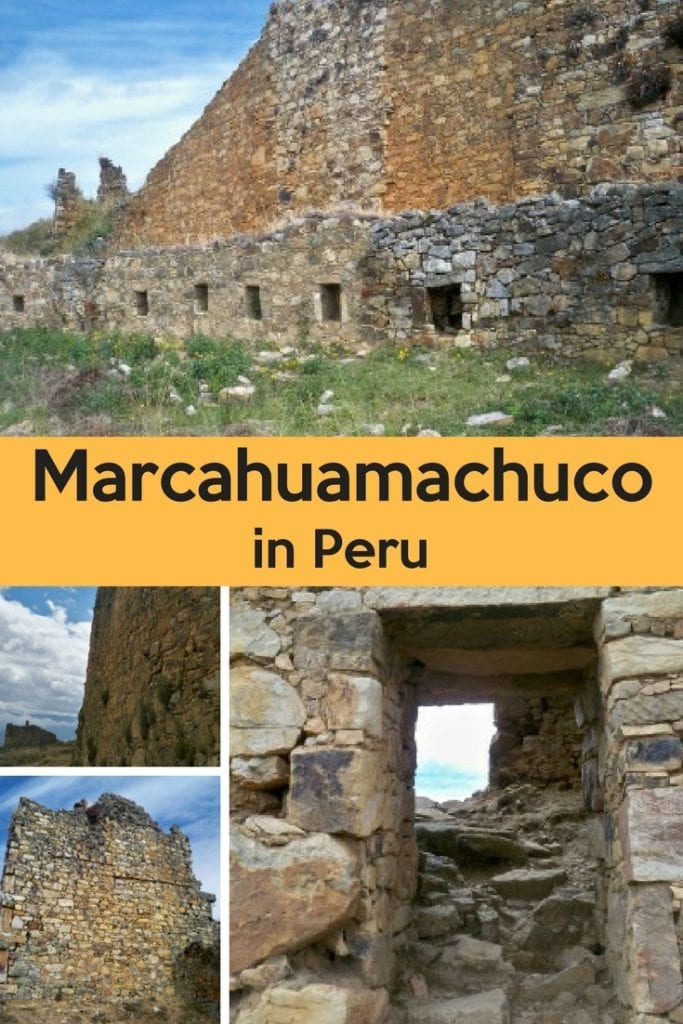 Marcahuamachuco in Peru. An unknown archaeological gem in northern Peru.
