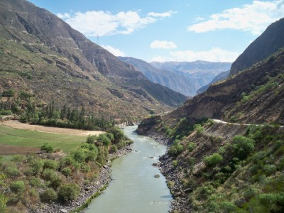 Cycling through valleys and over mountains in Peru