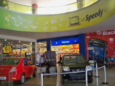 Shopping mall in Huancayo Peru