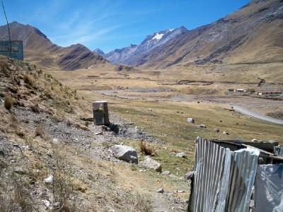 Pachapaqui outside toilets