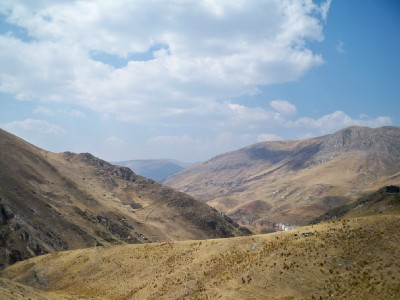 Cycling through the Andes in Peru