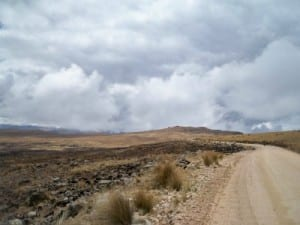 Cycling  from El Abra Tocctoccsa to Chumbes
