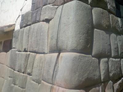 Stonework in Cusco Peru