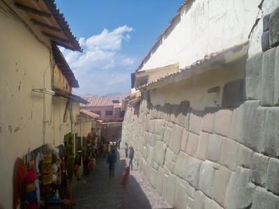 Incredible stonework in Cusco