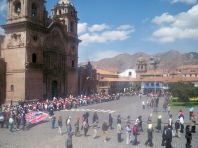 Exploring Cusco in Peru