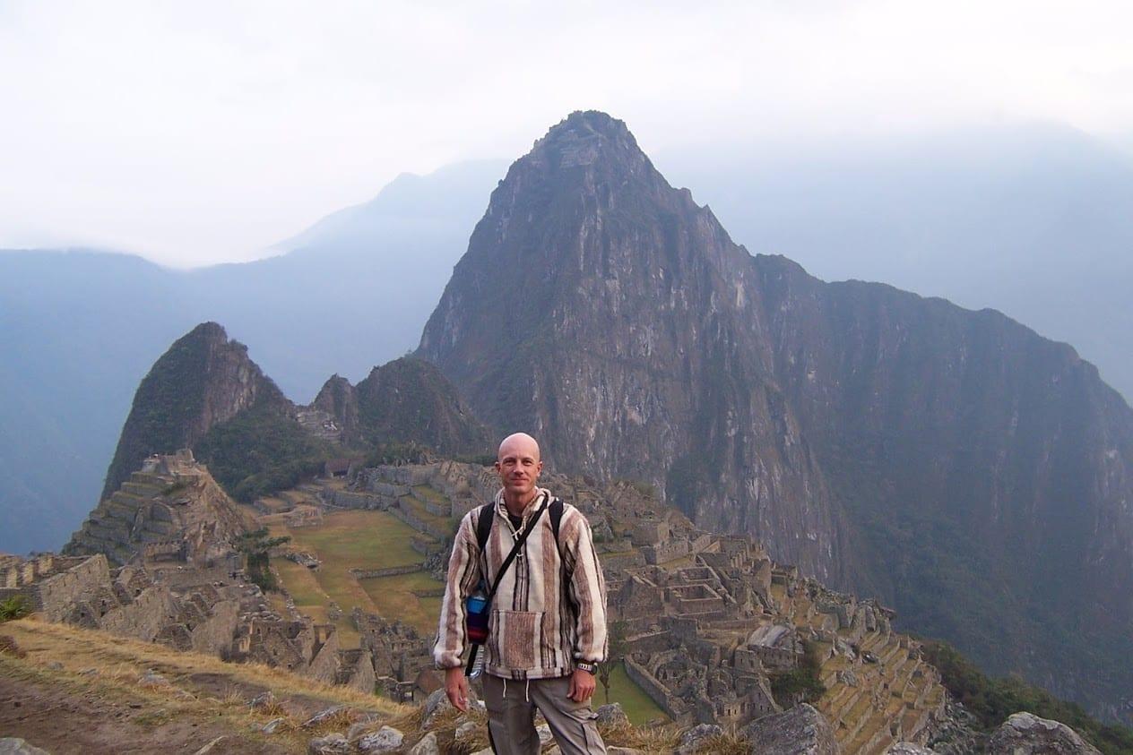 Dave Briggs at Machu Picchu