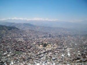 Cycling from Huarina to La Paz