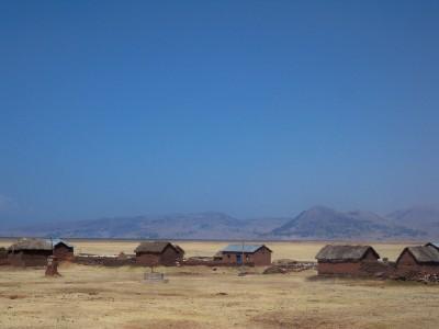 Leaving Puno in Peru